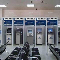 銀行自助設備防護外罩大堂內填單機終端機機罩