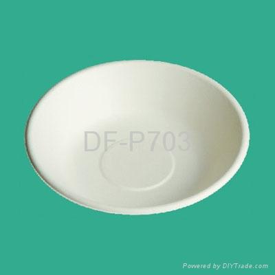 16 oz/450ml Bagasse Bowl 1