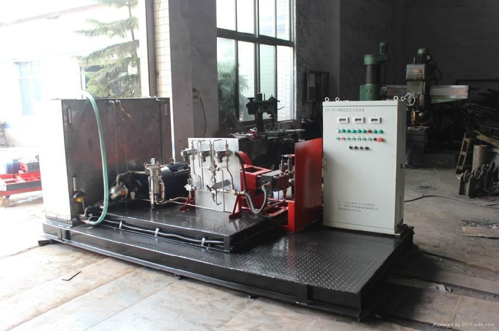 油田油井压力测试试压车 3
