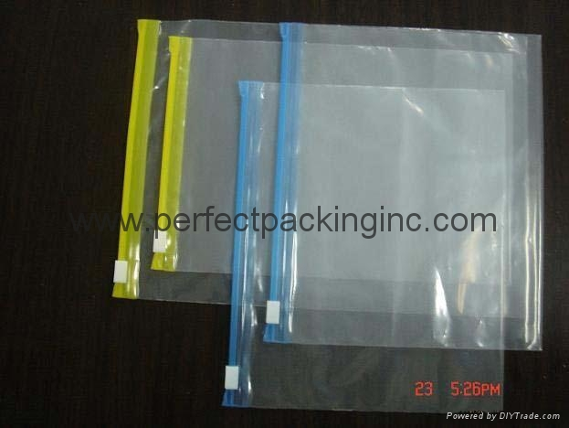 LDPE Slider Zipper Bags  1