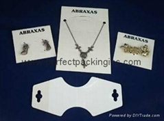 Jewelry Display Cards