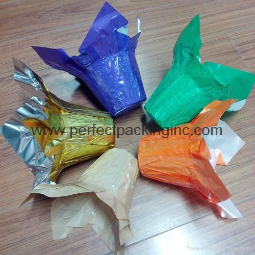 Plastic Flower Wrapping Pot Cover 1