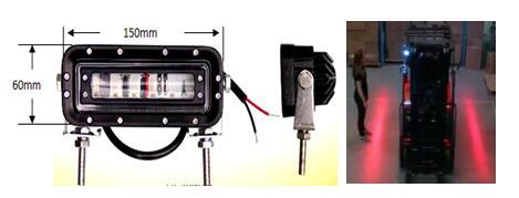 LED Safety Zone Warning Light 1