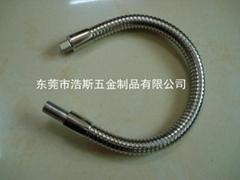 萬向彎曲金屬軟管蛇管