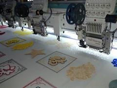 Tai Sang embroidery machine vista model 904+04