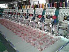 Tai Sang embroidery machine vista model 912