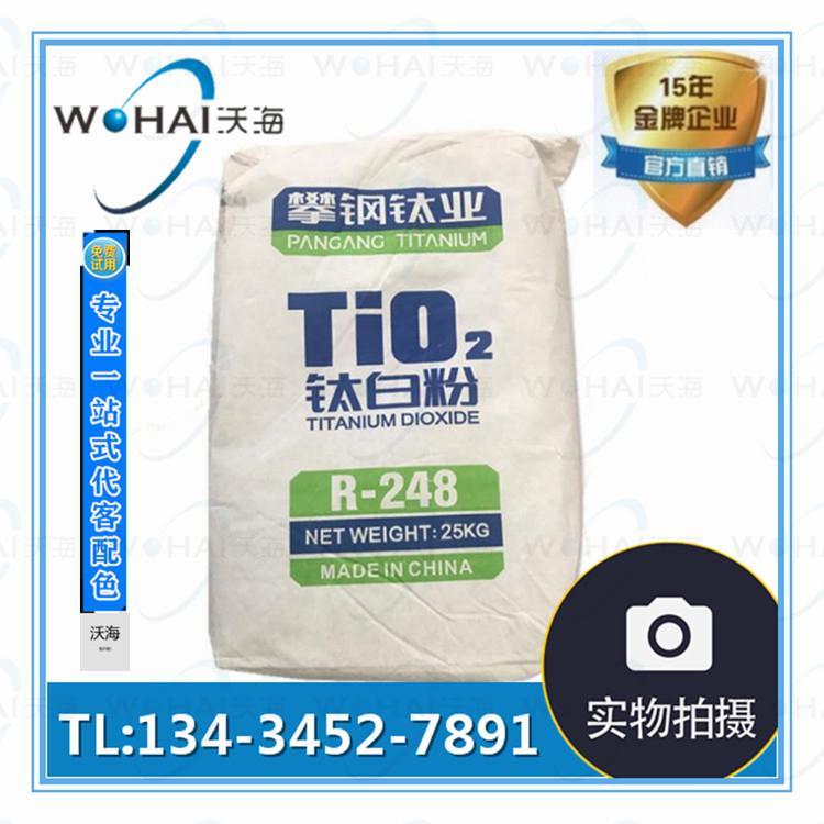 攀鋼渝鈦白鈦白粉R-298通用型鈦白粉、R-248塑膠專用鈦白粉 4