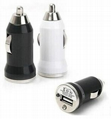 Colorful Mini USB Car Charger Adapter for Mobile Cell Phone mp3/MP4