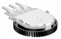 10mm Thumbwheel Driving Rotary Potentiometer,surface mount potentiometer