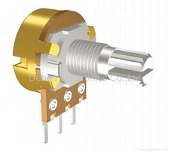 audio taper potentiometer