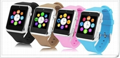 Smart Watch 1.3MP Camera Bluetooth Smartwatches FM 1.54'' GSM SIM TF Sync Call