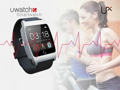 Smart Watch Bluetooth Android Ios Smartphone Pedometer Anti Lost Built-in Heart