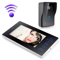 Wireless Video Door Phone Intercom Camera Night Visual Doorbell Home Security