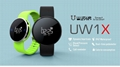 Heart Rate Monitor Blood Pressure Uw1X Waterproof Smart Watch Phone Smartwatch