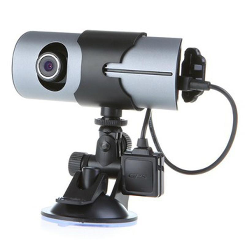 X3000/R300 Car Camera Dashcam DVR X3000 Dual Lens with GPS 1