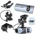 X3000/R300 Car Camera Dashcam DVR X3000 Dual Lens with GPS 4