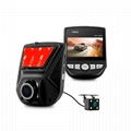 Hidden Dual Lens Car Dash Cam A305D Manual User FHD Car DVR Ntk96658 DVR