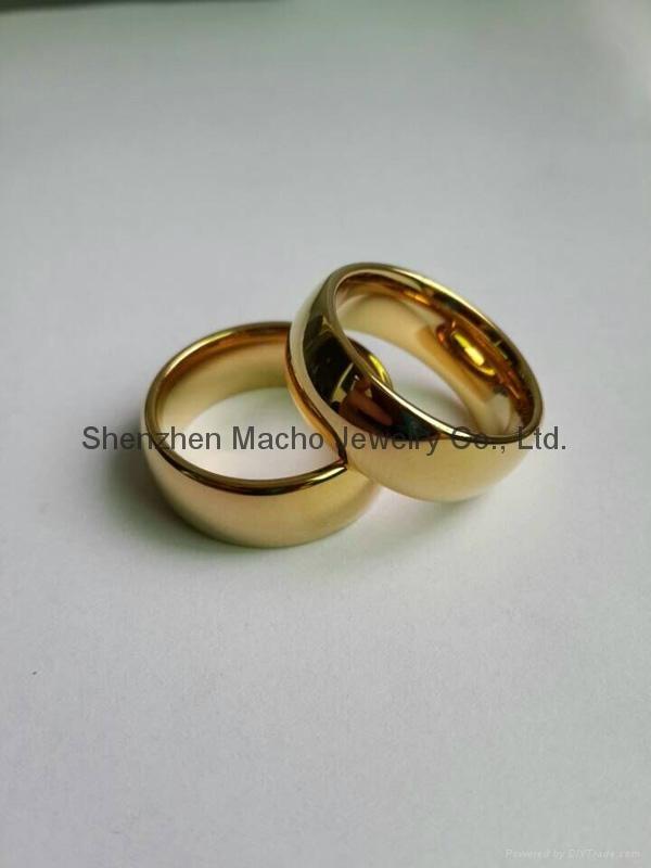 shiny ring finger white ceramic ring designs for men fashion ...