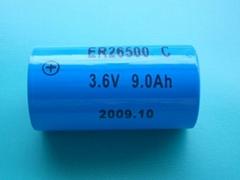 3.6V锂亚电池ER26500