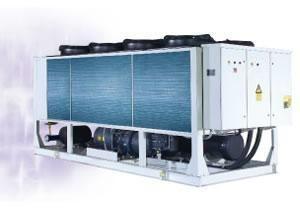 HBA螺杆式风冷冷(热)水机组 1