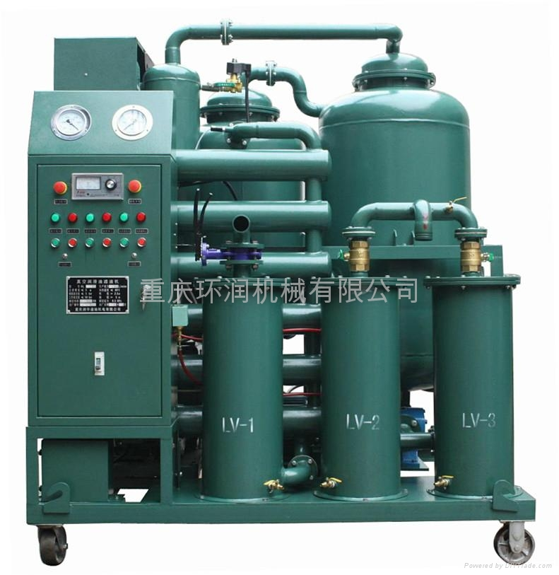 TYA系列潤滑油真空過濾機 1