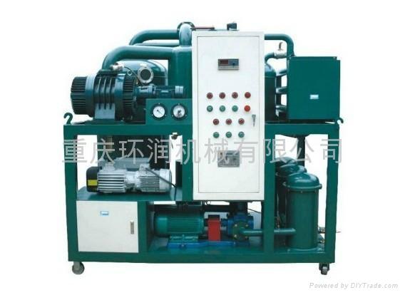 ZLA系列高效雙級真空濾油機 1