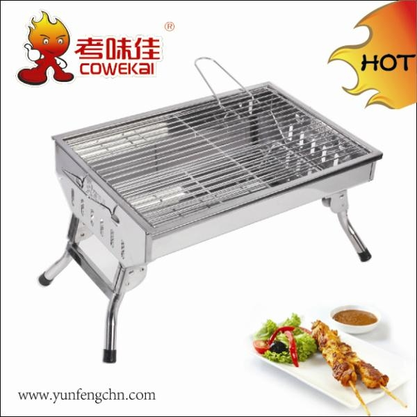 2015 Newest folding charcoal garden stove 1