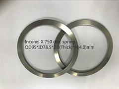 INCONEL X 750 合金钢耐高温碟簧