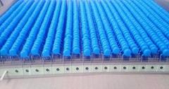 环保安规盒装编带高压陶瓷电容编带 104M50V 土色 蓝色