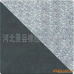 Asbestos rubber sheet with wire net inserted
