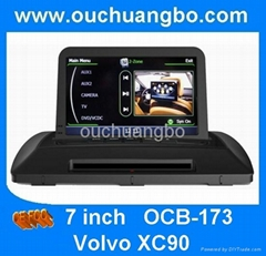 car DVD gps radio navi Volvo XC90 S100  canbus Wifi auto audio
