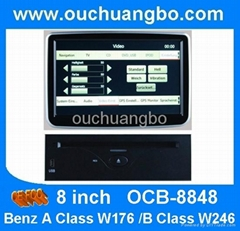 Car stereo radio DVD player for Mercedes Benz A Class W176