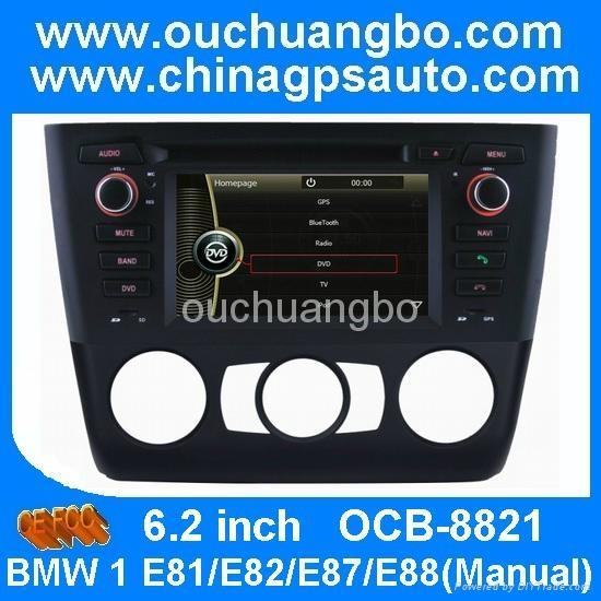 ouchuangbo car radio bmw e81 e82 e88 manual with auto navi system rh ouchuangbo diytrade com bmw k1600gtl audio system manual bmw motorrad audio system manual