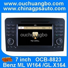 gps car kit navigation radio for Mercedes Benz ML350 ML450