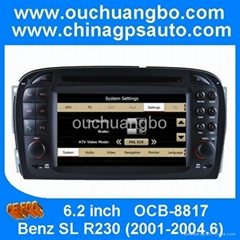 car TV auto stereo audio radio for Mercedes Benz R230