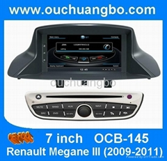 Car DVD gps radio navi S00 platform for Renault Megane 3
