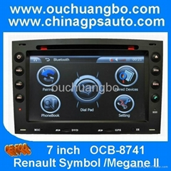 Autoradio DVD video for Renault Megane II with mp4 player with fm transmitter
