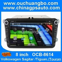 Car multimedia for vw Tiguan/Touran with bluetooth kit canbus gps navgation