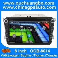 Car multimedia for vw Tiguan/Touran with bluetooth kit gps navgation
