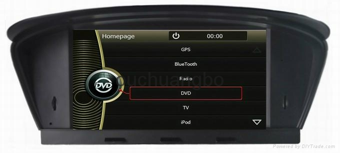 dvd gps stereo navigation radio for bmw e60 e61 e63 e64. Black Bedroom Furniture Sets. Home Design Ideas