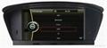 DVD gps stereo navigation radio for BMW  E60 E61 E63 E64 2