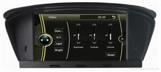 DVD gps stereo navigation radio for BMW  E60 E61 E63 E64 4