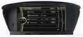 DVD gps stereo navigation radio for BMW  E60 E61 E63 E64 5