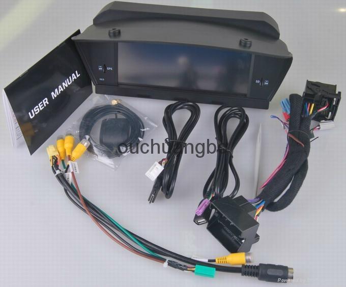 Dvd Gps Stereo Navigation Radio For Bmw E60 E61 E63 E64