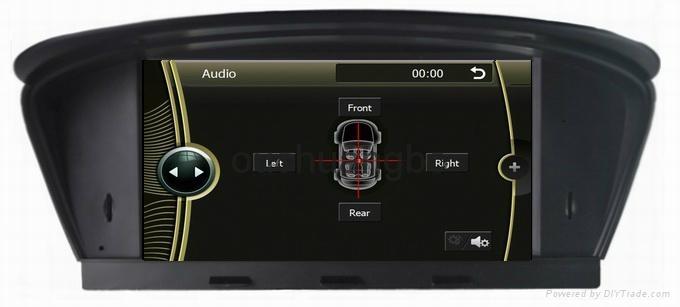 DVD gps stereo navigation radio for BMW  E60 E61 E63 E64 8