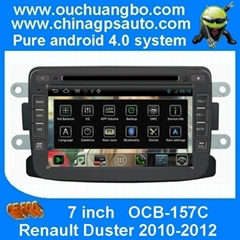 Android 4.0 Renault Duster 2010-2012 Car GPS Navigation Autoradio DVD Player