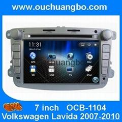 Car Media Stereo Radio for Volkswagen Lavida 2007-2010 GPS Nav BT iPod USB AM/FM