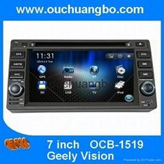 Ouchuangbo Car Radio DVD Geely Vision GPS Navigation iPod USB Stereo navi
