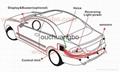 HOT OEM Parking Sensors Rear Electromagnetic LED Display 12V 4 System Radar  6