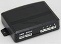 HOT OEM Parking Sensors Rear Electromagnetic LED Display 12V 4 System Radar  10
